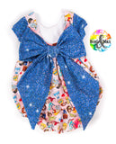 FLASH PREORDER -Fairytale- Big Bow Bubble Romper