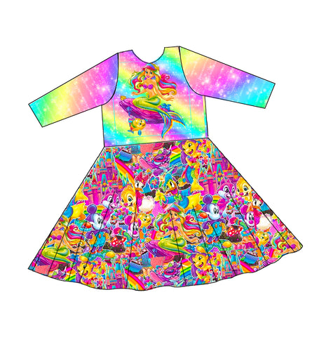 PREORDER-Rainbow Mouse Friends-Isla-Tunic