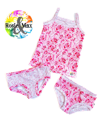 Rosie Top2Bums - Spring Roses - Size 4 - RTS