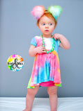 Neon Tie Dye - Bummie/Shortie ADD-ON