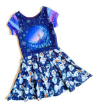 PREORDER -Ice Adventures- Samantha?-Isla Dress-w/PANEL