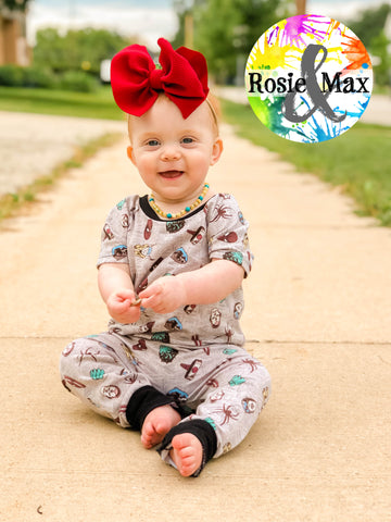 Rascal Romper-LONG/PANTS