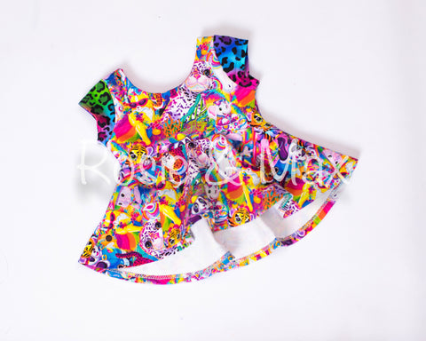 Rainbow Friends-Peplum or Tunic