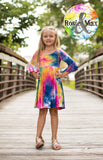 Tie Dye Luna Dress