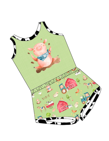 Farm-Laney Romper