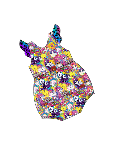 Rainbow Friends  Bubble Romper