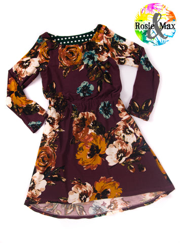 Fall Saige A-Line dress