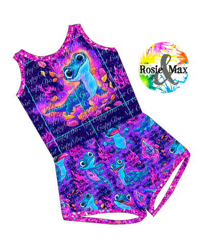PREORDER - Ice Adventures - Fire Spirit - Laney Romper