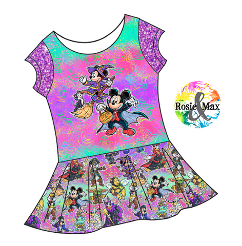 PREORDER - Boo to You - Mouse - Isla Tunic w/PANEL