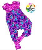 PREORDER - Ice Adventures - Alley Cat Romper