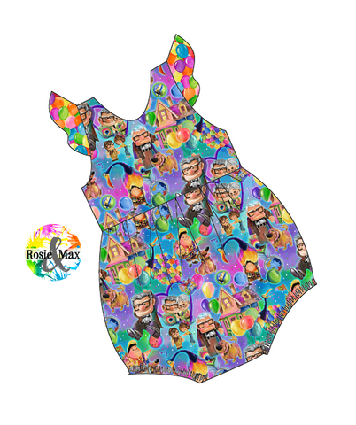 PREORDER - Adventure - Bubble Romper