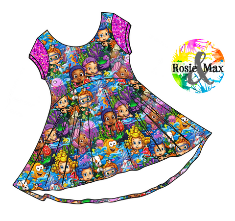 PREORDER - Guppies -  Luna Dress