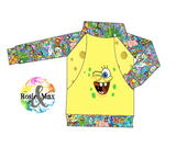 PREORDER - Pineapple Under the Sea - R&M Pullover - ADULT