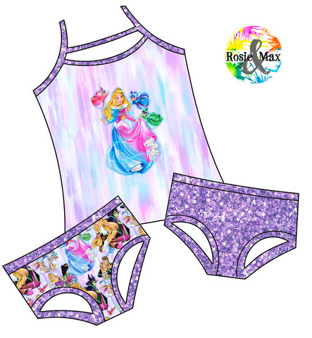 PREORDER - Sleeping Princess - 3 Pc Set - Rosie Top2Bums