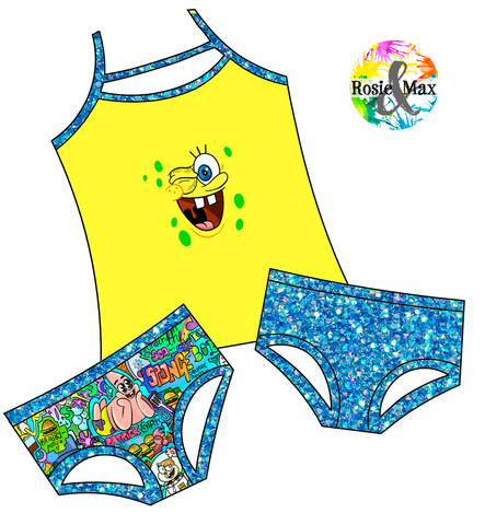 PREORDER - Pineapple Under the Sea - 3 Pc Set - Rosie Top2Bums