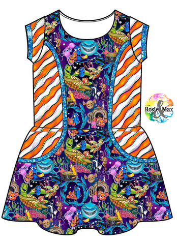 PREORDER - Just Keep Swimming -  Zoe Dress