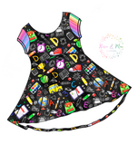 PREORDER - Chalkboard -  Luna Dress