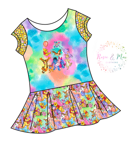 PREORDER - Hunny Bear - Everyone - Isla Tunic w/PANEL