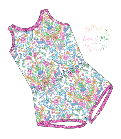 PREORDER - Whimsical Wizard - Laney Romper