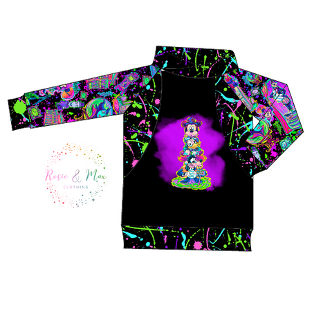 PREORDER - Haunted Mansion Mash - Boys - R&M Pullover - ADULT