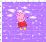 PREORDER-Pink Pig-Grow with Me Cowl