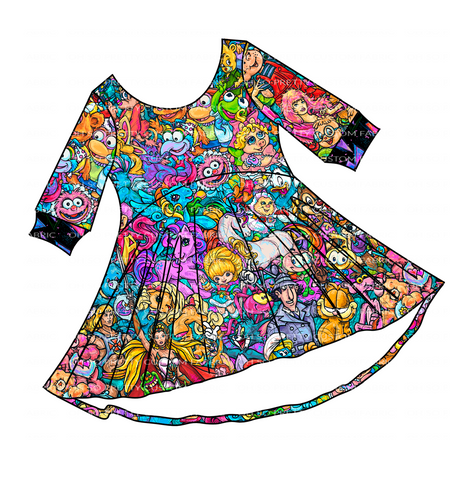 PREORDER-I Love the 80s- Luna Tunic