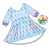 PREORDER-Ice Adventures-Elsa Inspired-Luna Tunic