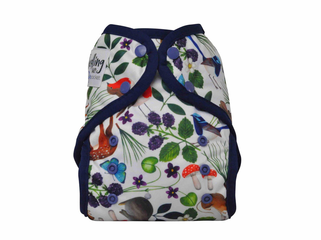 Seedling Baby | Multi Fit Nappy | Midnight Forest