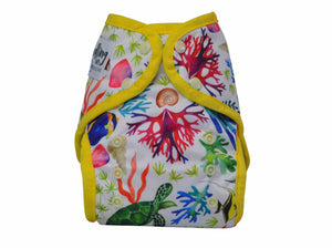 Seedling Baby | Multi Fit Nappy | Sandy Reef