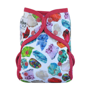 Seedling Baby | Multi Fit Nappy | Birthstone Ruby