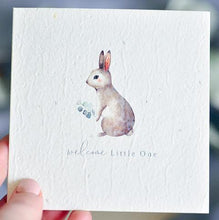 Load image into Gallery viewer, Nurturing Nature | Plantable Baby Shower Card