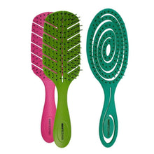 Load image into Gallery viewer, Bass | Bio-Flex Detangler Hair Brush - Earths Tribe