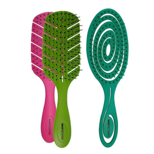 Bass | Bio-Flex Detangler Hair Brush - Earths Tribe