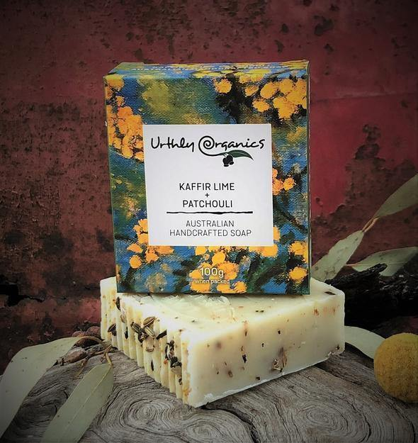 Urthly Organics | Kaffir Lime & Patchouli Soap