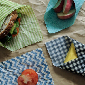 The Family Hub Organics | Vegan Food Wraps Starter Set