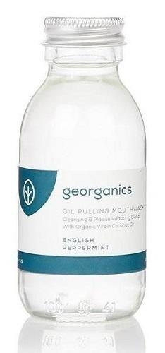 Georganics | Oil Pulling Mouthwash | Peppermint - Earths Tribe
