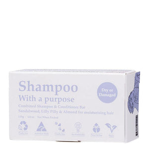 Shampoo With A Purpose - Dry Or Damaged - Earths Tribe