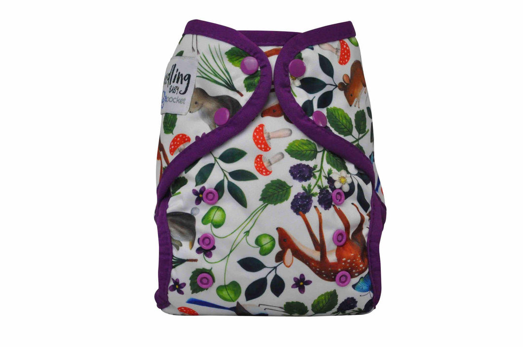 Seedling Baby | Multi Fit Nappy | Mulberry Forest