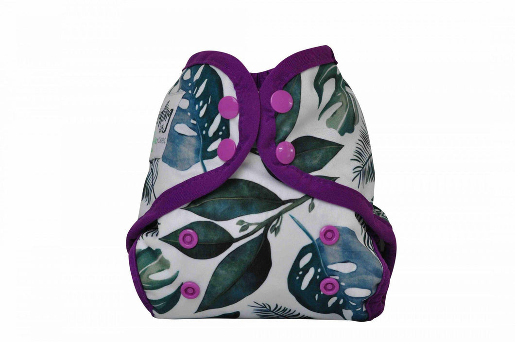 Seedling Baby | Mini Fit Nappy | Tropical Amethyst