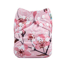 Load image into Gallery viewer, Alva Baby Diapers | Pink Cherry Blossom