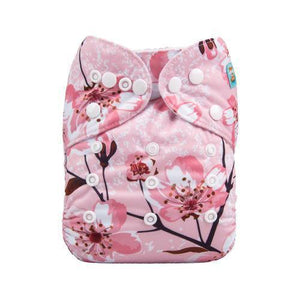 Alva Baby Diapers | Pink Cherry Blossom