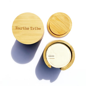 Earths Tribe | Bamboo Makeup Round Holder