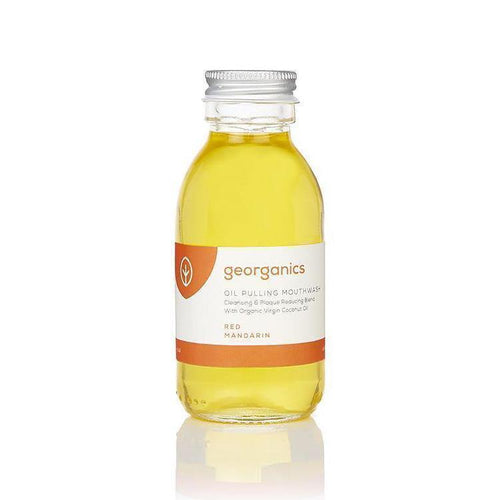 Georganics | Oil Pulling Mouthwash | Red Mandarin - Earths Tribe