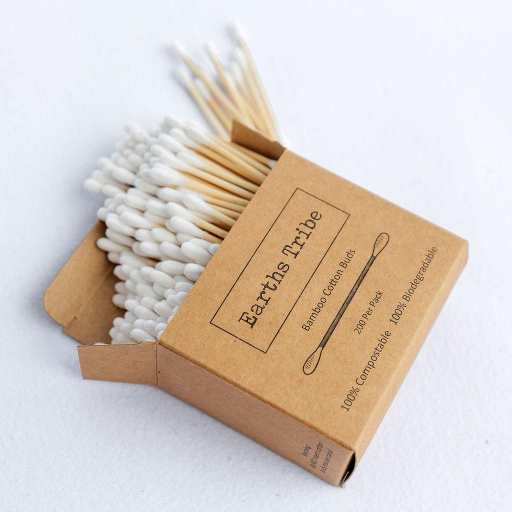 Earths Tribe | Bamboo Cotton Buds - Earths Tribe