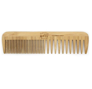 Bass | Bamboo Large Fine/Wide Tooth Comb - Earths Tribe