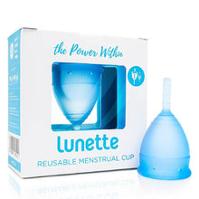 Load image into Gallery viewer, Lunette | Menstrual Cup | Blue - Earths Tribe