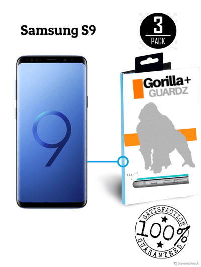 GorillaGuard+ for Samsung S9