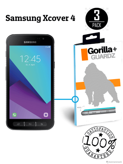 GorillaGuard+ for Samsung Xcover 4
