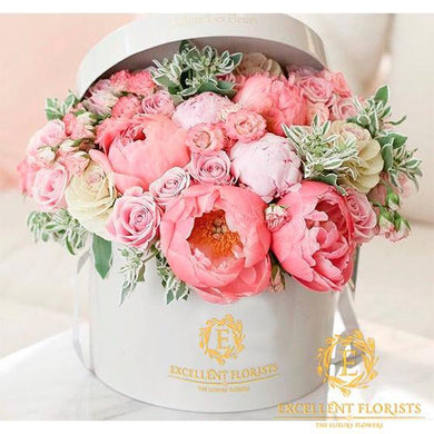 Coral  Peonies & Pink - Excellent Florists