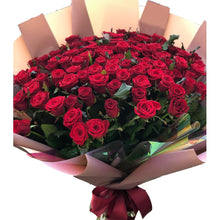 Load image into Gallery viewer, 150 Red Roses Forever Romance Bouquet * VASE NOT INCLUDED